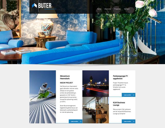 Webdesign Buter Bouwmanagement