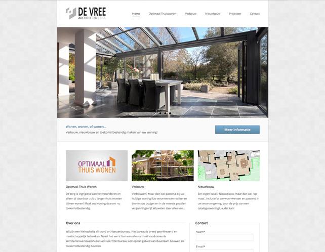 Webdesign de Vree